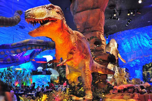 t rex caf downtown disney orlando city